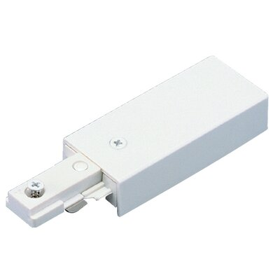 Live End-Feed Connector in White