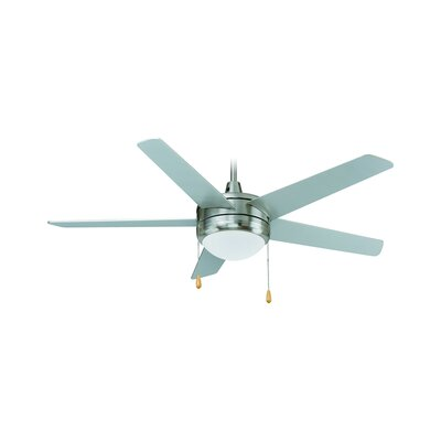 50 5-Blade Ceiling Fan Finish: Brushed Nickel