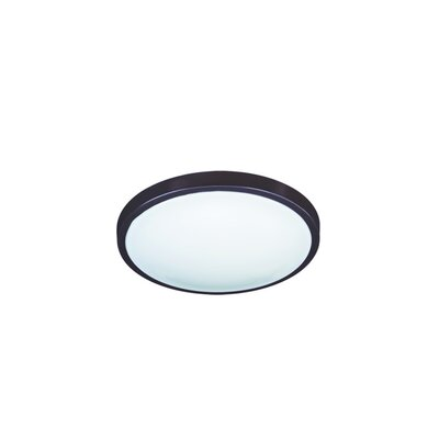 Flush Mount Finish: White, Size: 3.5 H x 12 W x 12 D