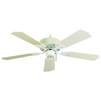 42 Sunset 5-Blade Outdoor Ceiling Fan Finish: Brushed Pewter