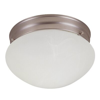 5.25 2-Light Flush Mount