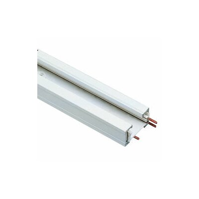 8 ft Track/Single Circuit  in White (Pack of 12)