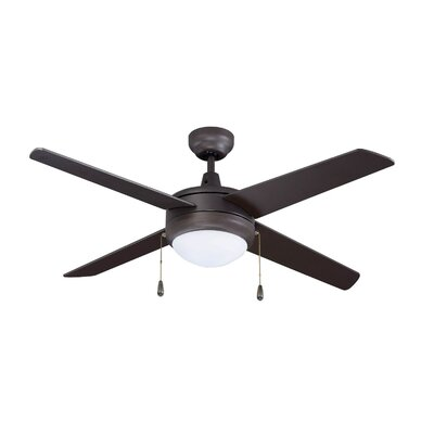 50 Europa 4-Blade Ceiling Fan Finish: Oil Rubbed Bronze with Oil Rubbed Bronze Blades