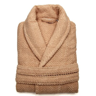 Girard Bathrobe in Warm Sand Size: Small/Medium