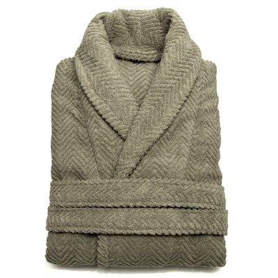Girard Bathrobe in Light Olive Size: Large/Extra Large