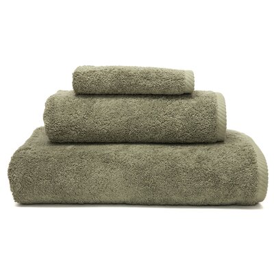 Soft Twist 100% Turkish Cotton 3 Piece Towel Set Color: Light Olive