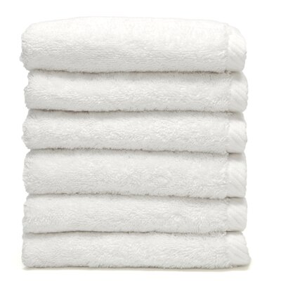 Soft Twist 100% Turkish Cotton Wash Cloth Color: White