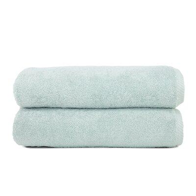 Luxury Hotel & Spa 100% Turkish Cotton Soft Twist Bath Towel Color: Soft Aqua