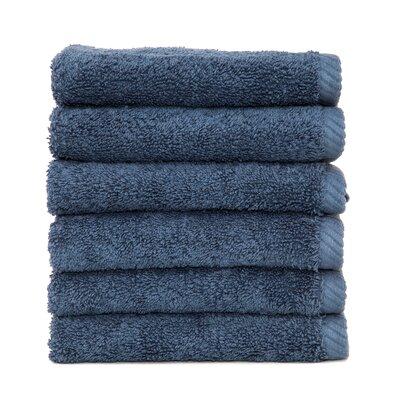 Soft Twist 100% Turkish Cotton Wash Cloth Color: Midnight Blue