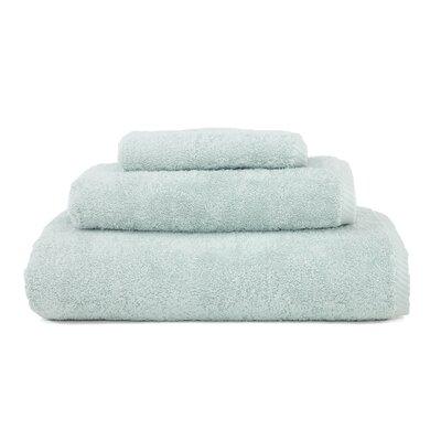 Soft Twist 100% Turkish Cotton 3 Piece Towel Set Color: Soft Aqua