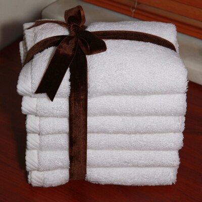 Soft Twist 100% Turkish Cotton Wash Cloth Color: White
