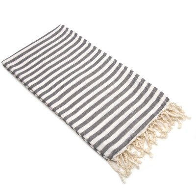 Fun in the Sun Pestemal/Fouta Bath Towel Color: Graphite Grey