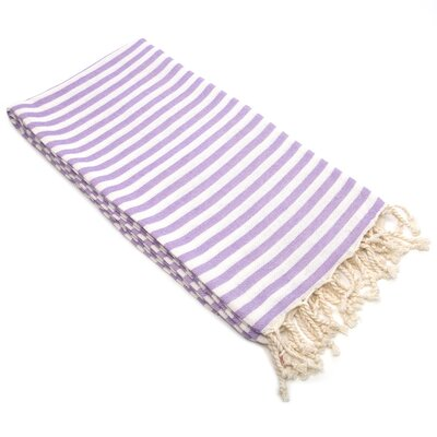 Fun in the Sun Pestemal/Fouta Bath Towel Color: Lilac