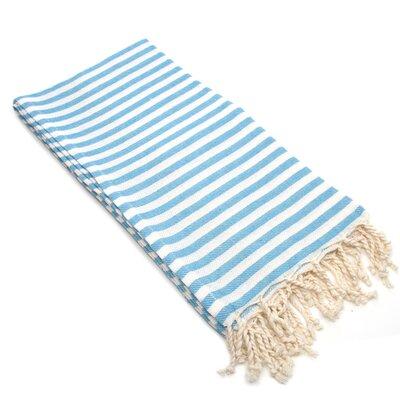Fun in the Sun Pestemal/Fouta Bath Towel Color: Turquoise Blue