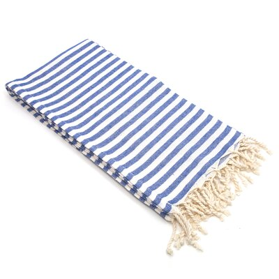 Fun in the Sun Pestemal/Fouta Bath Towel Color: Ocean Blue
