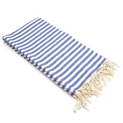 Fun in the Sun Pestemal/Fouta Bath Towel Color: Ocean Blue