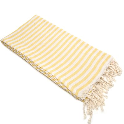 Fun in the Sun Pestemal/Fouta Bath Towel Color: Sunshine Yellow