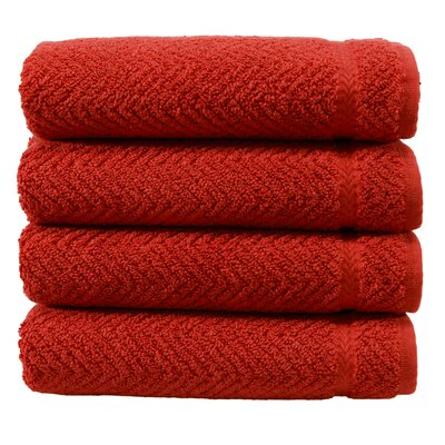 Hand Towel Color: Terracotta