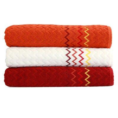 Montauk Zig Zag Bath Towel