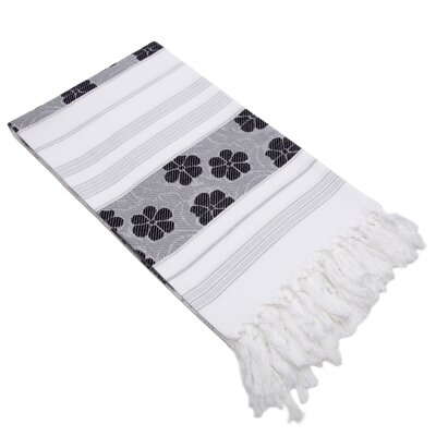 Flowers For All Jacquard Pestemal Beach Towel