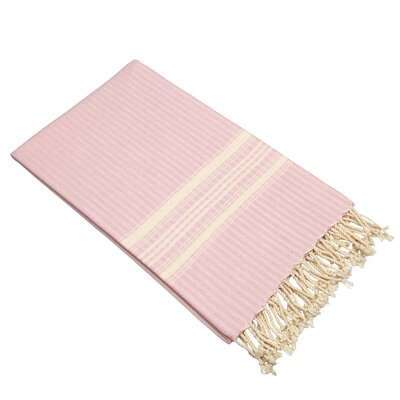Luxe Herringbone Pestemal Towel Color: Powder Pink