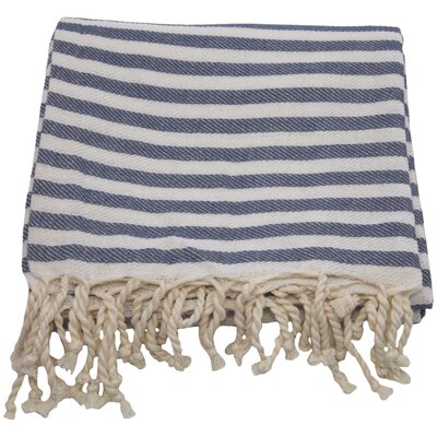 Fun in the Sun Pestemal/Fouta Bath Towel Color: Midnight Blue
