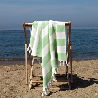 Patara Pestemal Beach Towel Color: Pistachio Green