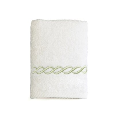 Willow Washcloth Towel Color: Light Green