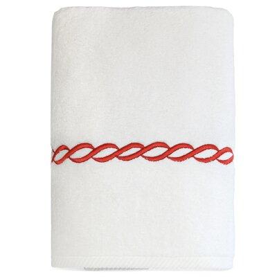 Willow Bath Towel Color: Terra Cotta