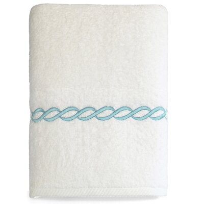 Willow Bath Towel Color: Sky Blue