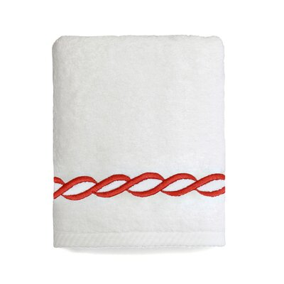 Willow Towel Size: Hand Towel, Color: Terra Cotta