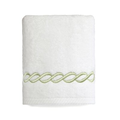 Willow Hand Towel Color: Light Green