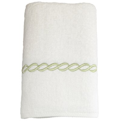 Willow Bath Towel Color: Light Green
