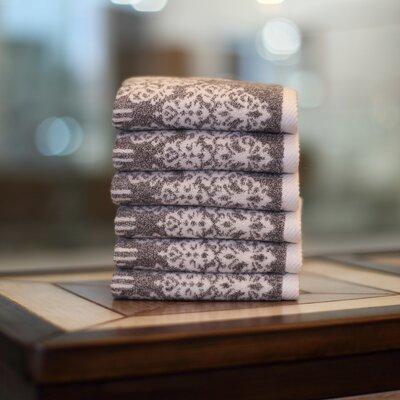 Gioia Wash Cloth Color: Vintage Brown
