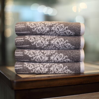 Gioia Hand Towel Color: Vintage Brown