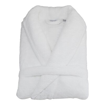 Eustacio Super Plush Bathrobe Size: Small / Medium