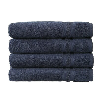 Denzi Hand Towel Set Color: Twilight Blue