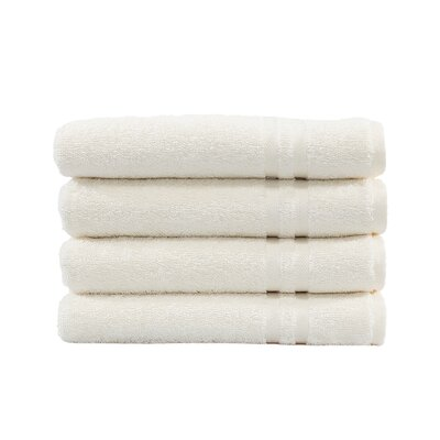 Denzi Hand Towel Set Color: Cream
