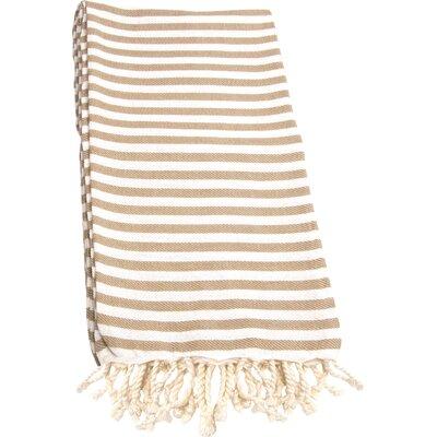 Fun in the Sun Pestemal/Fouta Bath Towel Color: Cafe Latte