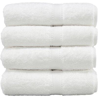 Luxury Hotel & Spa 100% Turkish Cotton Bath Towel (Set of 4)
