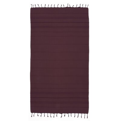 Sandspur Pestemal Beach Towel Color: Purple