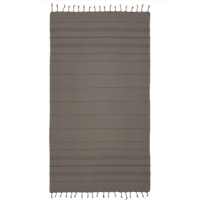 Sandspur Pestemal Beach Towel Color: Gray