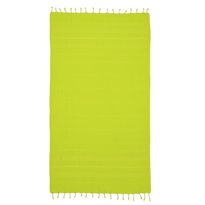 Sandspur Pestemal Beach Towel Color: Chartreuse
