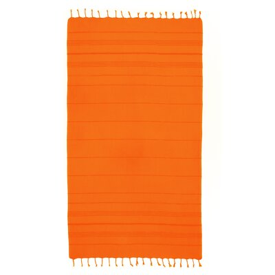 Summer Fun Pestemal Beach Towel Color: Orange