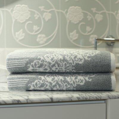 Gioia Bath Towel Color: Soft Aqua