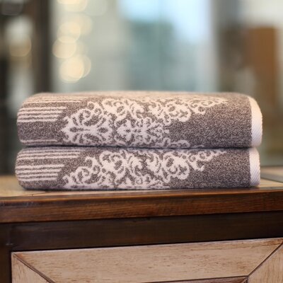 Gioia Bath Towel Color: Vintage Brown