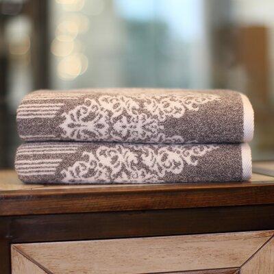 Gioia Bath Towel Color: Vintage Brown
