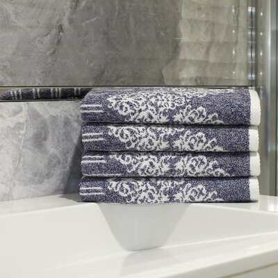 Gioia Hand Towel Color: Ocean Blue