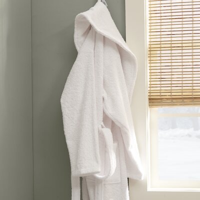 Eulalia Terry Cotton Bathrobe Size: XX-Large