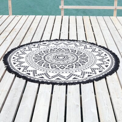 Kilim Round Pestemal Beach Towel